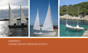 Cat Ketch 17 Boat Plans (CK17)
