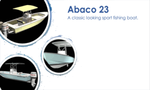 Abaco 23 Boat Plans (AB23)
