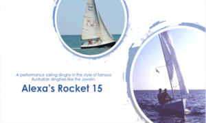 Alexa's Rocket 15 Boat Plans (AR15)