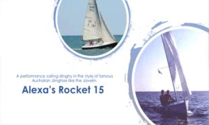 Alexa's Rocket 15 Boat Plans (AR15)