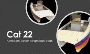 Cat 22 Boat Plans (CT22)