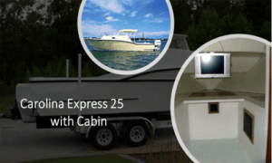 Carolina Express 25 Boat Plans (CX25)