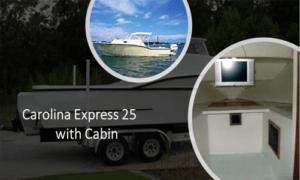 Carolina Express 25 Boat Plans (CX25)