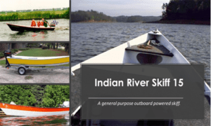 Indian River Skiff 15 Boat Plans (D15)