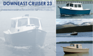 Down East Cruiser 23 Boat Plans (DE23)