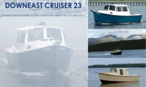 Down East Cruiser 23 Boat Plans (DE23)