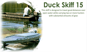 Duck Skiff 15 Boat Plans (DS15)