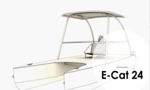 E-Cat 24 Boat Plans (EC24)