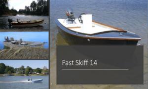 Fast Skiff 14 Boat Plans (FS14)