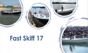 Fast Skiff 17 Boat Plans (FS17)