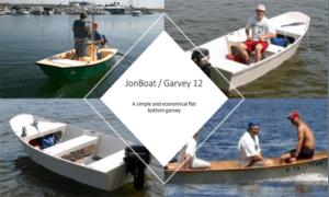 Jon Boat / Garvey 12 Boat Plans (GF12)