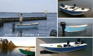 Jon Boat / Garvey 14 Boat Plans (GF14)