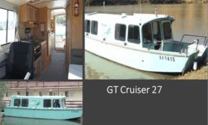 GT Cruiser 27 Boat Plans (GT27)