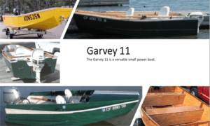 Jon Boat / Garvey 11 Boat Plans (GV11)