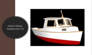 Harbor Master Displacement 19 Boat Plans (HMD19)