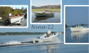 Nina 22 Boat Plans (LB22)