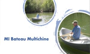 MI Bateau Multichine Boat Plans (MI12)