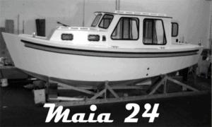 Maia 24 Boat Plans (MT24)