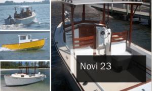 Novi 23 Boat Plans (NV23)