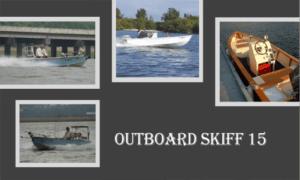 Outboard Skiff 15 Boat Plans (OB15)