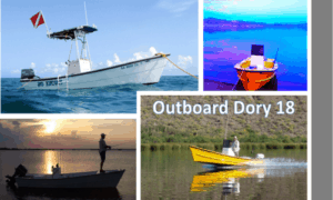Outboard Dory 18 Boat Plans (OD18)