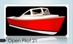 Open Pilot 21 Boat Plans (OP21)