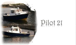 Pilot 21 Boat Plans (P21)