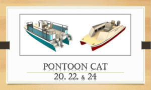 Pontoon Cat Boat Plans (PC20)