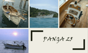 Panga 25 Boat Plans (PG25)