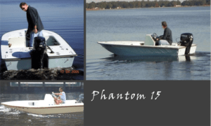 Phantom 15 Boat Plans Foam Version (PH15)