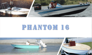 Phantom 16 Boat Plans (PH16)