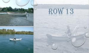 Row 13 Boat Plans (R13)