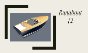 Runabout 12 Boat Plans (RB12)