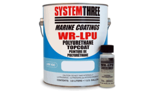 System Three WR-LPU Polyurethane Topcoat