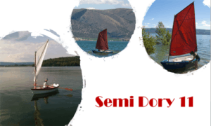 Semi Dory 11 Boat Plans (SD11)
