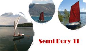 Semi Dory 11 Boat Plans (SD11)