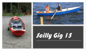 Scilly Gig 15 Boat Plans (SG15)
