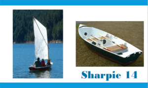 Sharpie 14 Boat Plans (SH14)