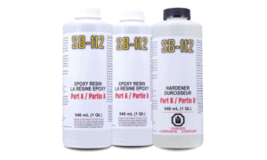SystemThree Surfboard Epoxy 3 Quart Kit