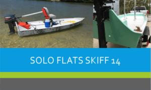 Solo Flats Skiff Boat Plans (SK14)