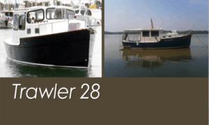 Trawler 28 Boat Plans (TW28)