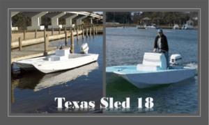 Texas Sled 18 Boat Plans (TX18)