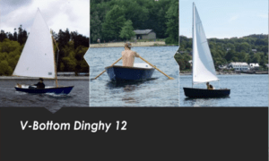 V-Bottom Dinghy 12 Boat Plans (V12)