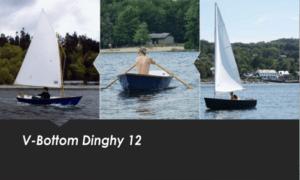 V-Bottom Dinghy 12 Boat Plans (V12)