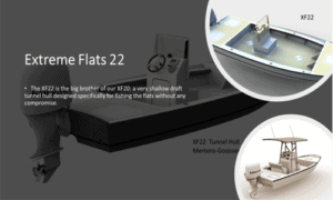 Extreme Flats 22 Boat Plans (XF22)