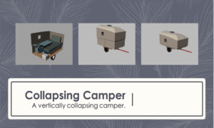 Collapsing Camper Boat Plans