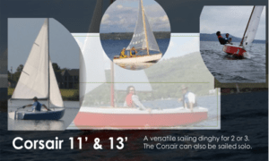Corsair 11 Boat Plans (CR11)